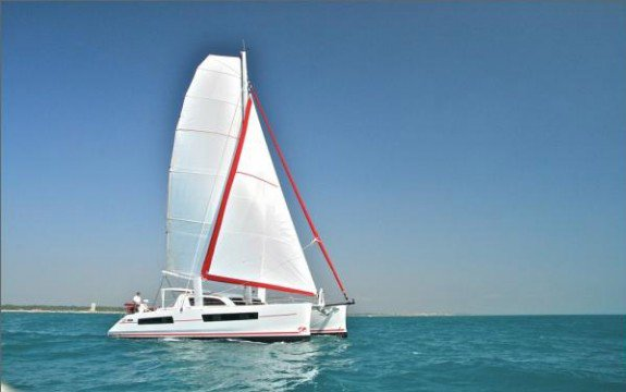 Catamaran boat rental in Le Marin, Martinique