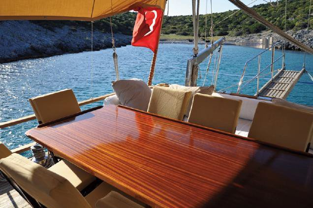 Boating is fun with a Ketch in Bodrum