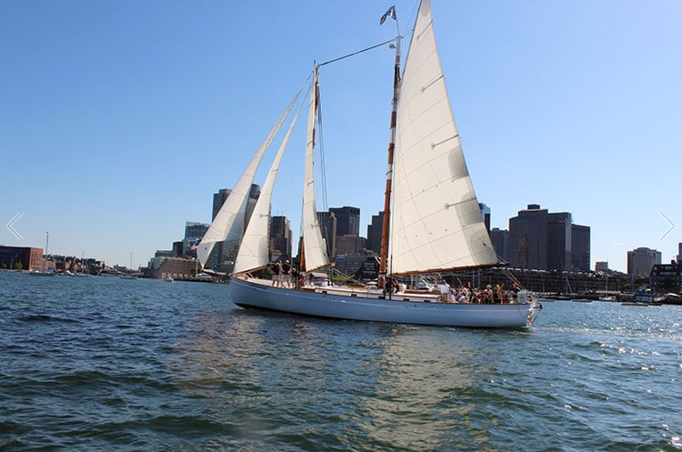 Have fun in Boston onboard this classic Schooner
