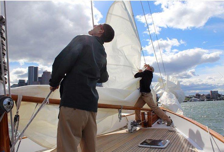 Schooner boat for rent in Boston