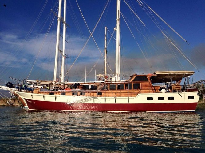 Discover Aegean surroundings on this Sumru Sultan Custom Made boat