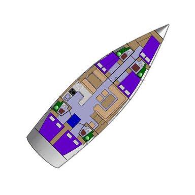 Boat for rent D&D Yacht 54.0 feet in Marina Trogir – ACI,