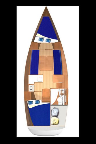 Boat for rent Dufour Yachts 33.0 feet in Marina Tehnomont Veruda, Pula,