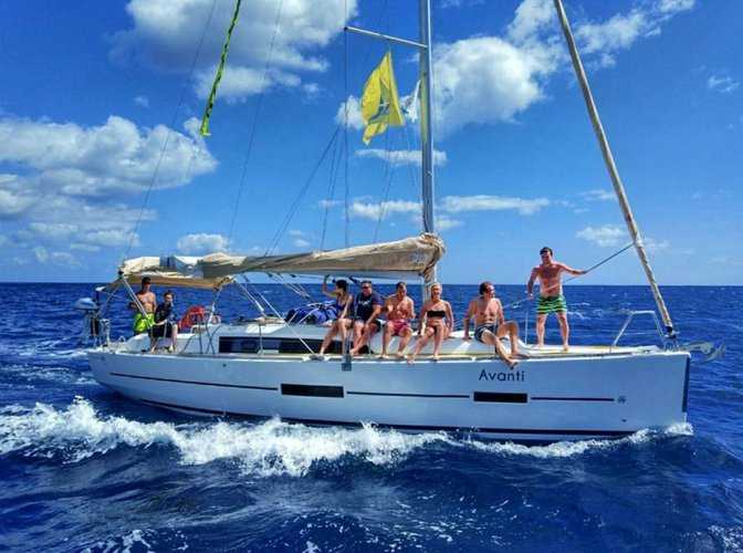 Sail the waters of Azores on this comfortable Dufour Yachts