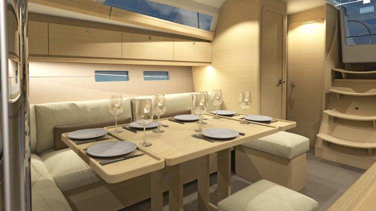 This 36.0' Dufour Yachts cand take up to 8 passengers around Saronic Gulf