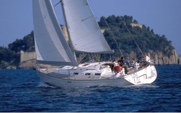 Enjoy luxury and comfort on this Dufour Yachts in Cyclades