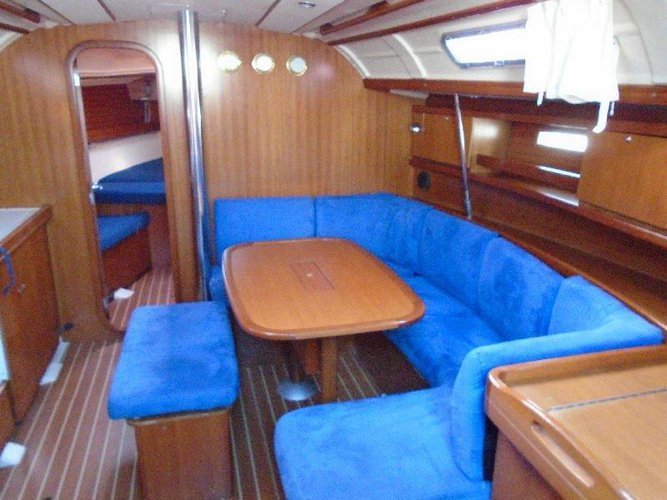 Discover Istra surroundings on this Dufour 385 GL Dufour Yachts boat