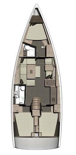 This 40.0' Dufour Yachts cand take up to 8 passengers around Malta Xlokk