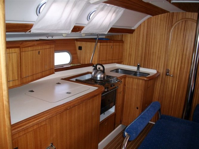 Discover Ionian Islands surroundings on this Gib Sea 41 Dufour Yachts boat