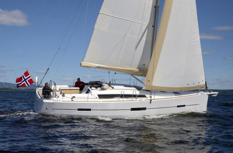 Sail the waters of Ionian Islands on this comfortable Dufour Ya