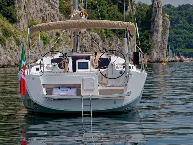Boat for rent Dufour Yachts 41.0 feet in Lefkas, Marina Lefkas, Greece
