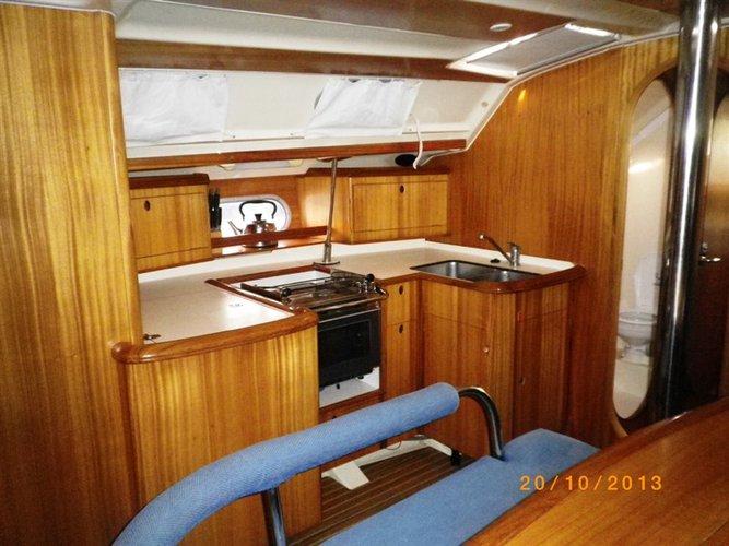 Boat for rent Dufour Yachts 42.0 feet in Corfu (Gouvia marina),