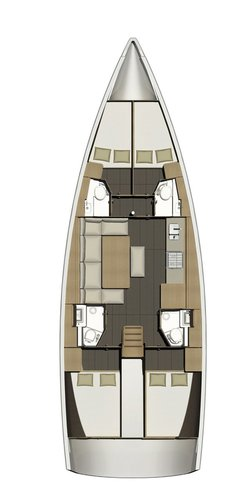 Discover Split region surroundings on this Dufour 460 GL Dufour Yachts boat
