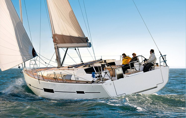 Sail Sicily waters on a beautiful Dufour Yachts Dufour 500 GL