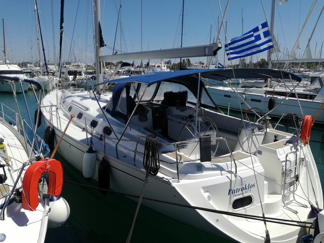 Discover Ionian Islands surroundings on this Gib Sea 51 Dufour Yachts boat