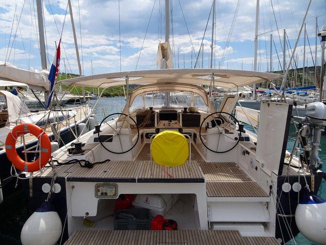 Boat for rent Dufour Yachts 56.0 feet in Marina Kremik, Primosten,