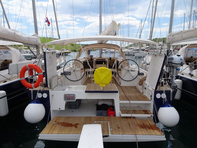 Boat for rent Dufour Yachts 56.0 feet in Marina Kremik, Primosten, Croatia