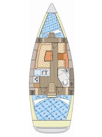 Boat for rent Elan Marine 34.0 feet in Marina Dalmacija, Sukosan,