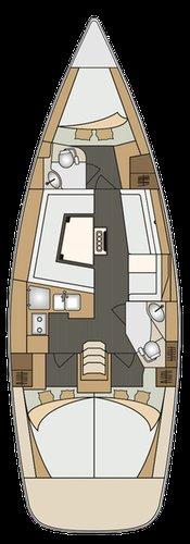 Boat for rent Elan Marine 39.0 feet in Primorska , Slovenia