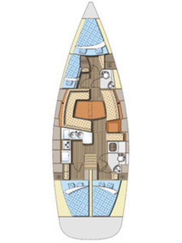 Discover Šibenik region surroundings on this Elan 434 Impression Elan Marine boat