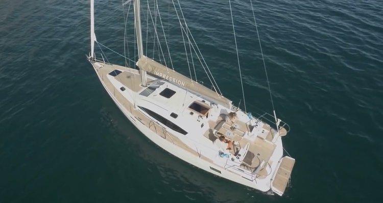 Discover Šibenik region surroundings on this Elan Impression 45 Elan Marine boat