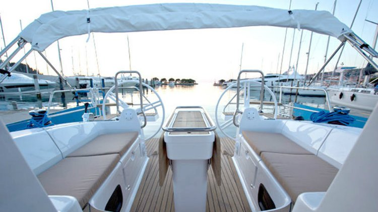 Discover Zadar region surroundings on this Elan Impression 45 Elan Marine boat