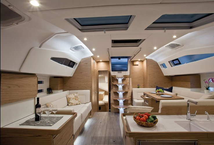 Discover Split region surroundings on this Elan Impression 50 Elan Marine boat