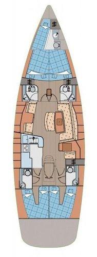 Boat for rent Elan Marine 52.0 feet in Marina Split - ACI ,