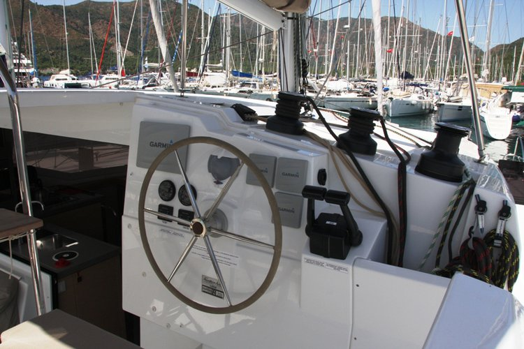 Boat for rent Fountaine Pajot 38.0 feet in Marmaris Yacht Marina,