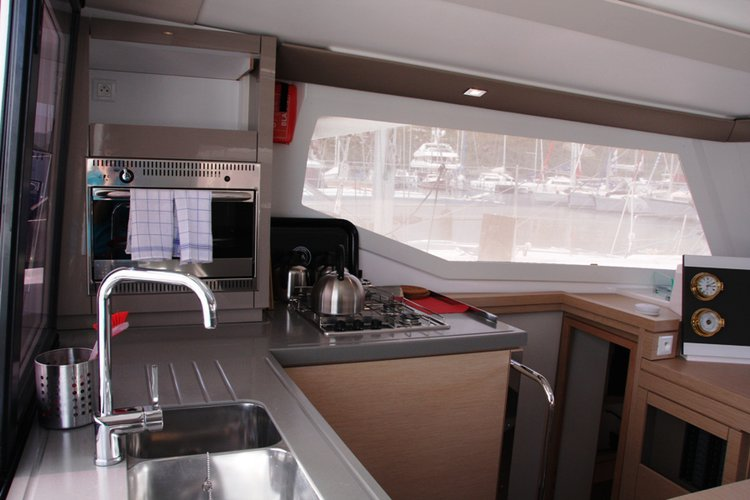 Fountaine Pajot's 38.0 feet in Aegean