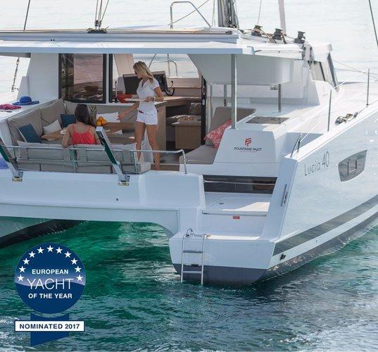 Boat for rent Fountaine Pajot 38.0 feet in Marina Kornati, Biograd, Croatia
