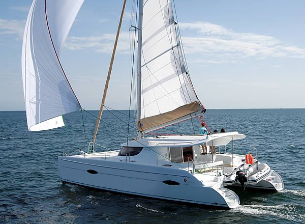 Charter this amazing Fountaine Pajot Lipari 41 in Campania