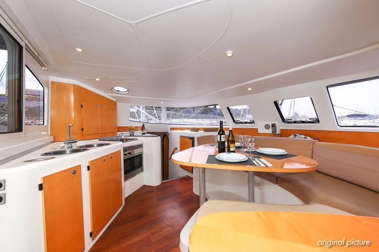 Boat for rent Fountaine Pajot 39.0 feet in Marina Tehnomont Veruda, Pula,