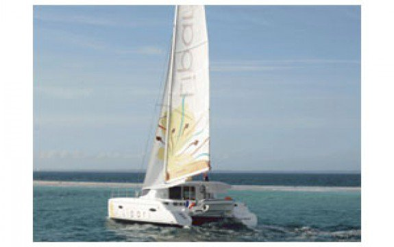 Catamaran boat for rent in La Marina