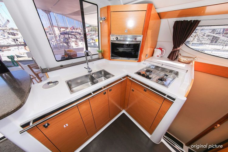 Boat for rent Fountaine Pajot 39.0 feet in Marina Trogir - SCT,