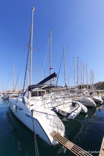 Boat for rent Fountaine Pajot 39.0 feet in Marina Trogir – ACI,