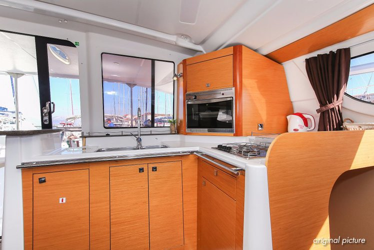 Discover Split region surroundings on this Lipari 41 Fountaine Pajot boat