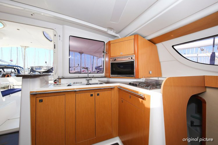 Discover Zadar region surroundings on this Lipari 41 Fountaine Pajot boat