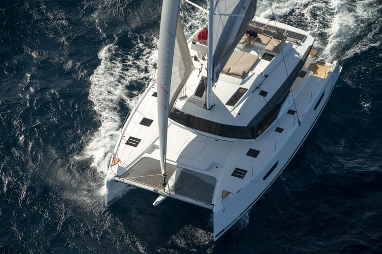 Boat for rent Fountaine Pajot 42.65 feet in Le Marin, Martinique