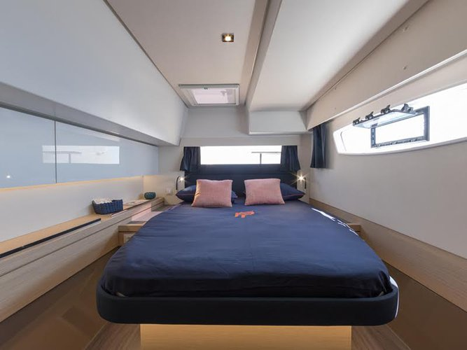 Boat for rent Fountaine Pajot 45.0 feet in Cyclades,