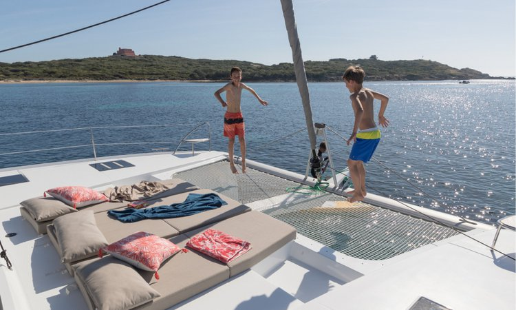 Boat for rent Fountaine Pajot 45.0 feet in Marina Trogir - SCT,