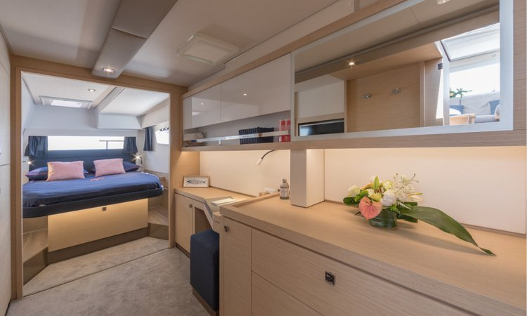 Discover Split region surroundings on this Fountaine Pajot Saona 47 (Quintet) Fountaine Pajot boat