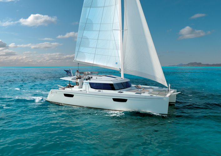 Boat for rent Fountaine Pajot 49.0 feet in Marina Trogir - SCT,