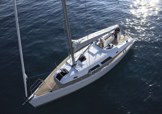 Experience Aegean on board this amazing Hanse Yachts Hanse 375