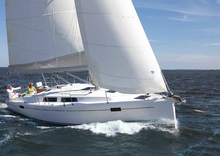 Jump aboard this beautiful Hanse Yachts Hanse 385