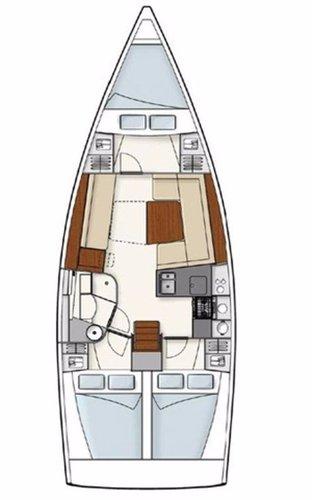 Hanse Yachts's 37.0 feet in Zadar region
