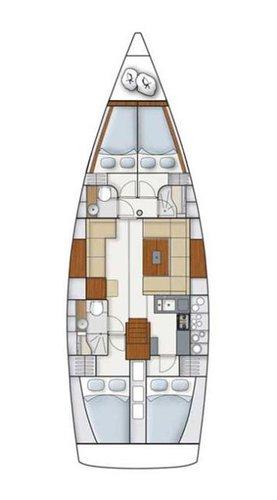 Boat for rent Hanse Yachts 44.0 feet in ACI Marina Dubrovnik (Komolac) ,