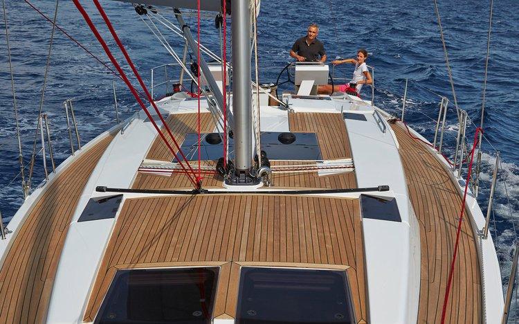 Boat for rent Hanse Yachts 45.0 feet in Marina Kastela,