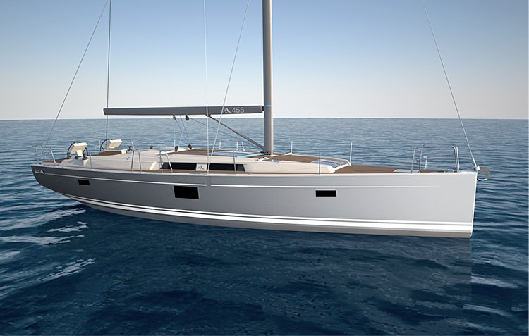Sail Zadar region waters on a beautiful Hanse Yachts Hanse 455