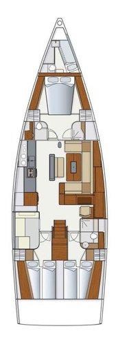 Hanse Yachts boat for rent in Šibenik region